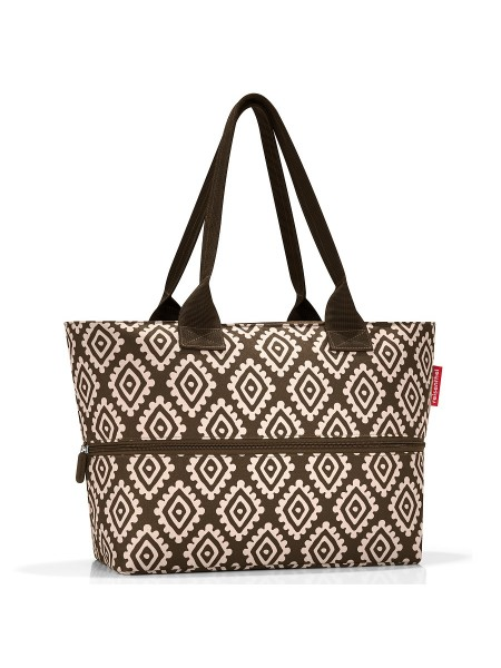 Сумка shopper e1 diamonds mocha